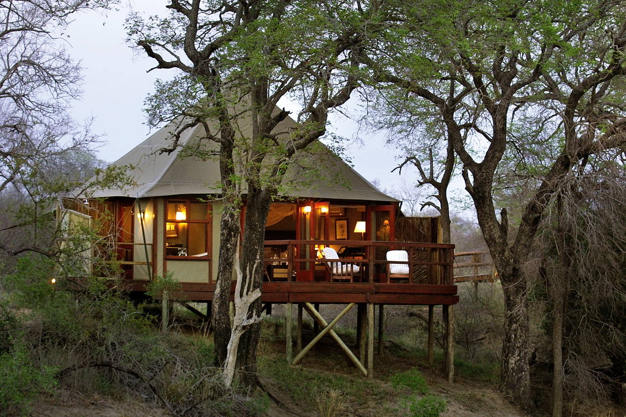 Hamiltons Tented Camp suite