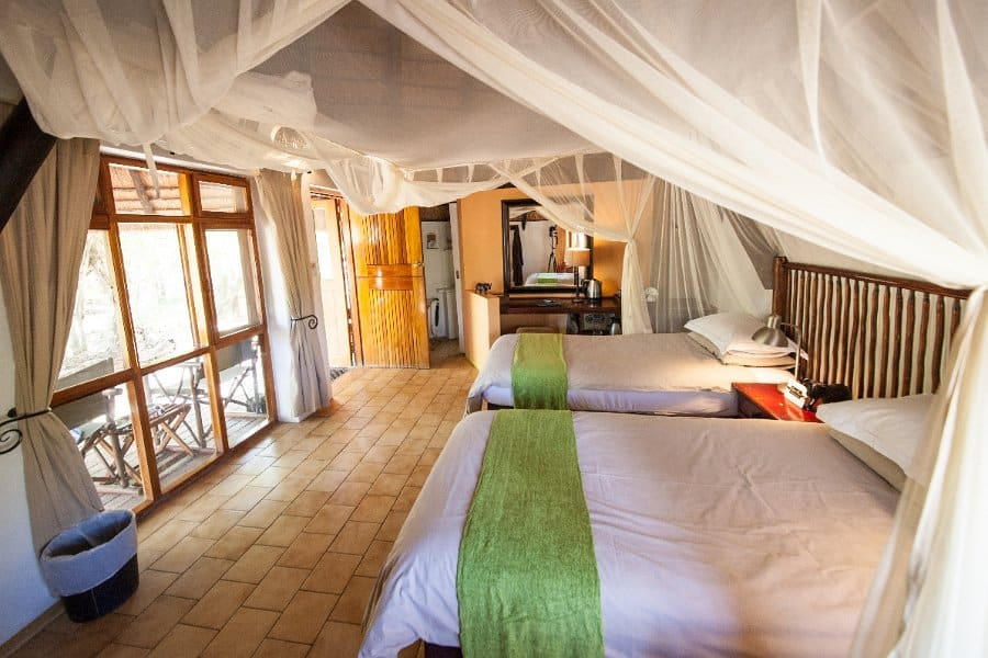 Luxury suite at Cheetah Plains
