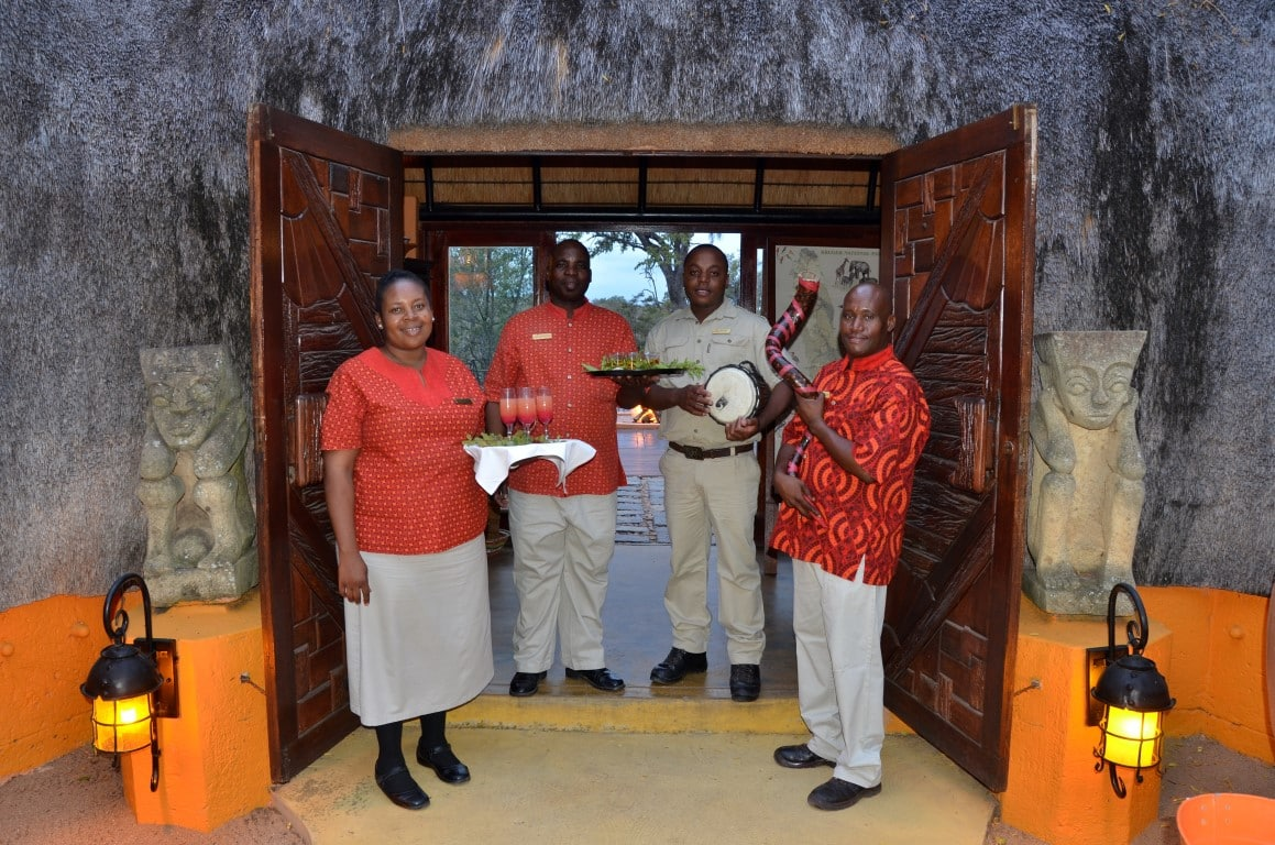 Lodge welcome at Hoyo Hoyo