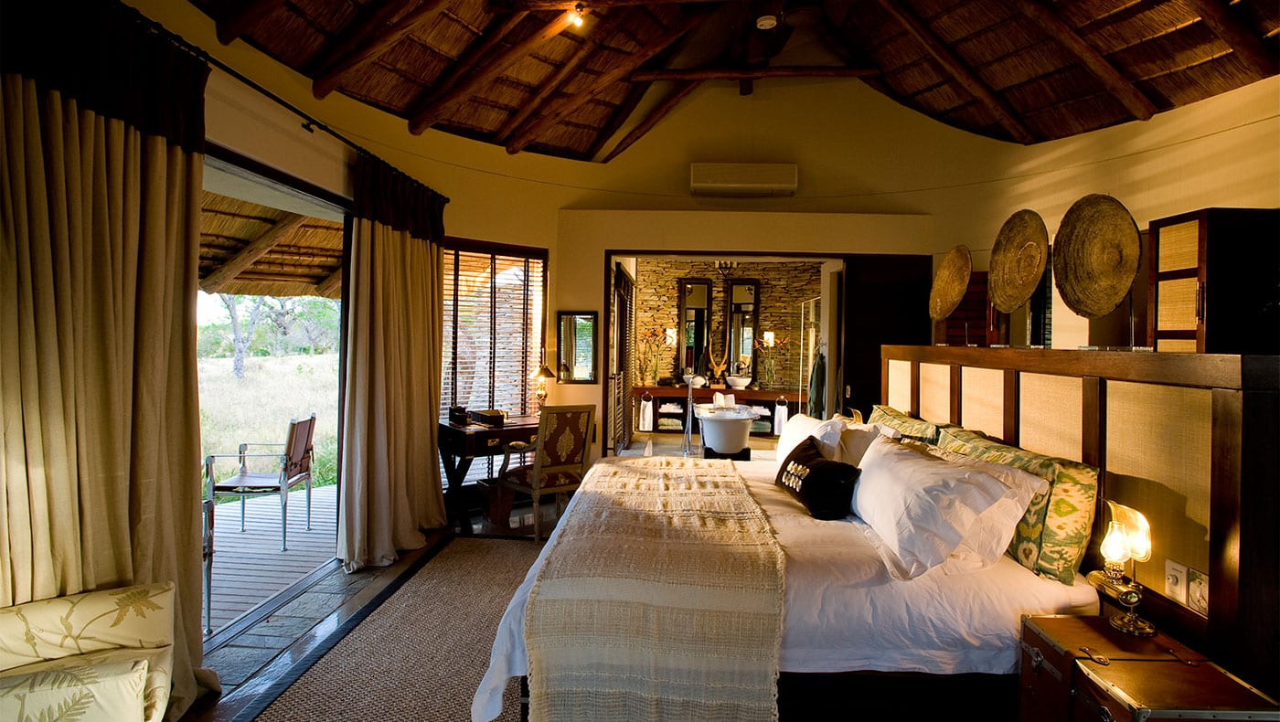 Luxurious suite at Makanyi