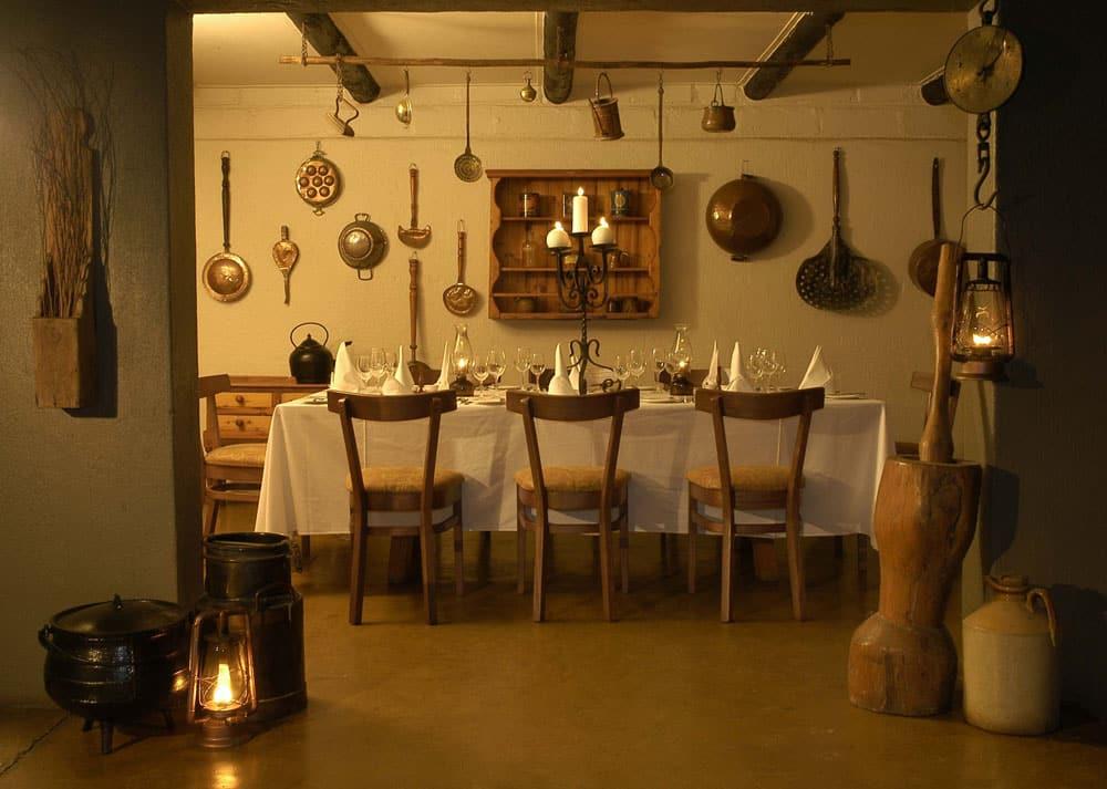 Sabi Sabi Selati farmhouse kitchen