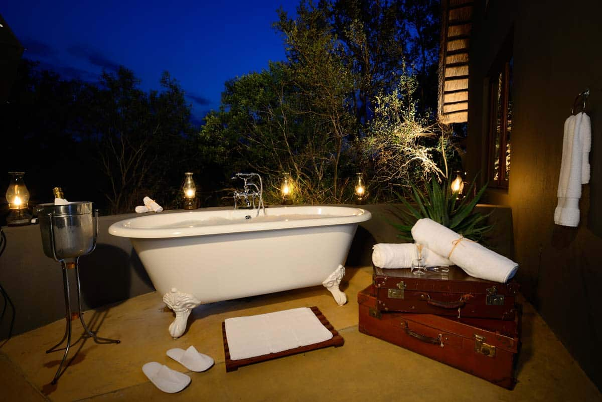 Sabi Sabi Selati Lourneco Marques suite outdoor bath