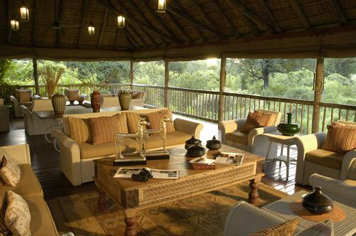 Sabi Bush Lodge lounge