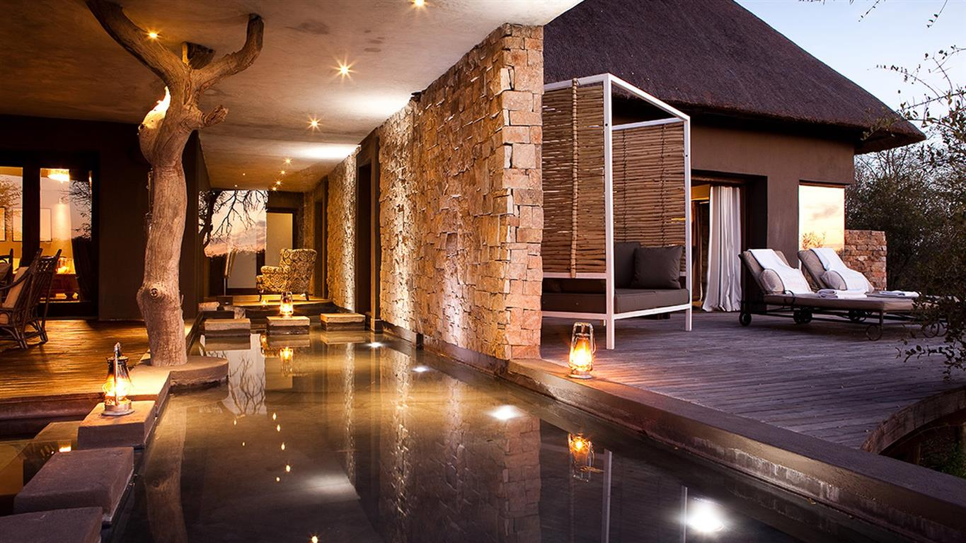 Africa-chic at Chitwa House