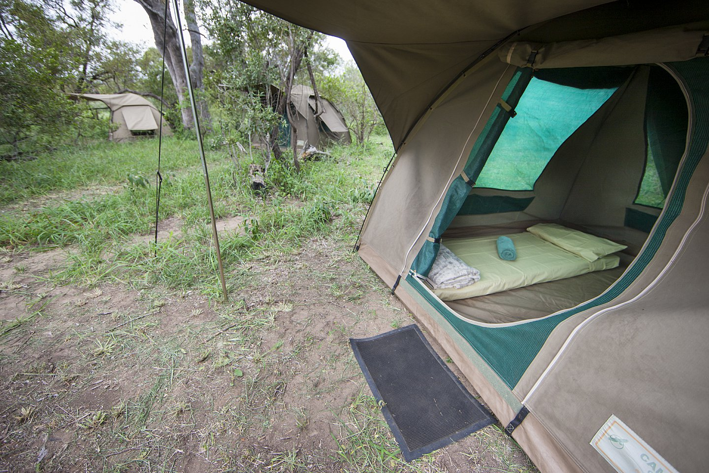 Bow tent at Bateleur Mobile Safaris