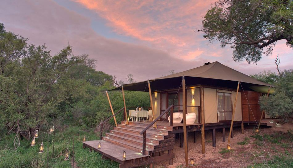 Safari glamping at Ngala Tented Camp
