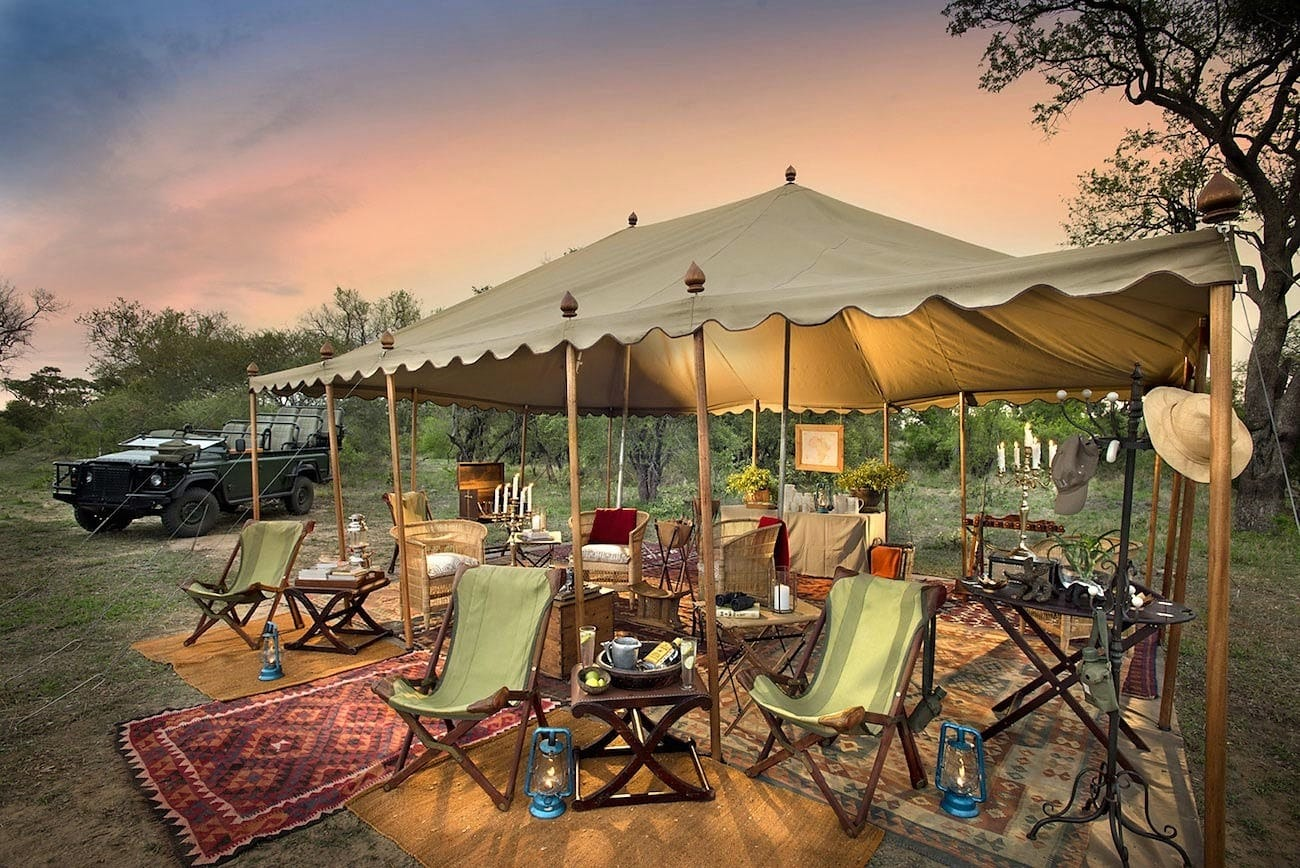 Explorer-style splendour of Tanda Tula Field Camp