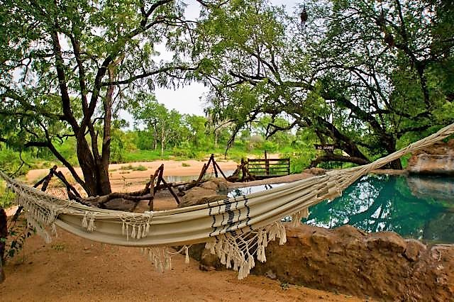 Hammocks at Umlani pool