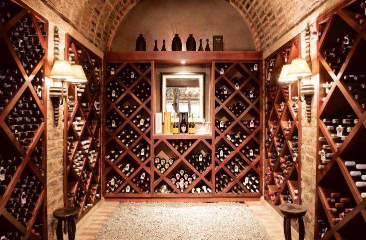 Dulini wine cellar