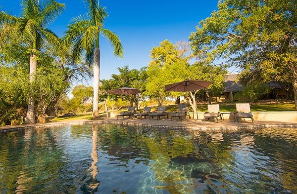 Inyati swimming pool