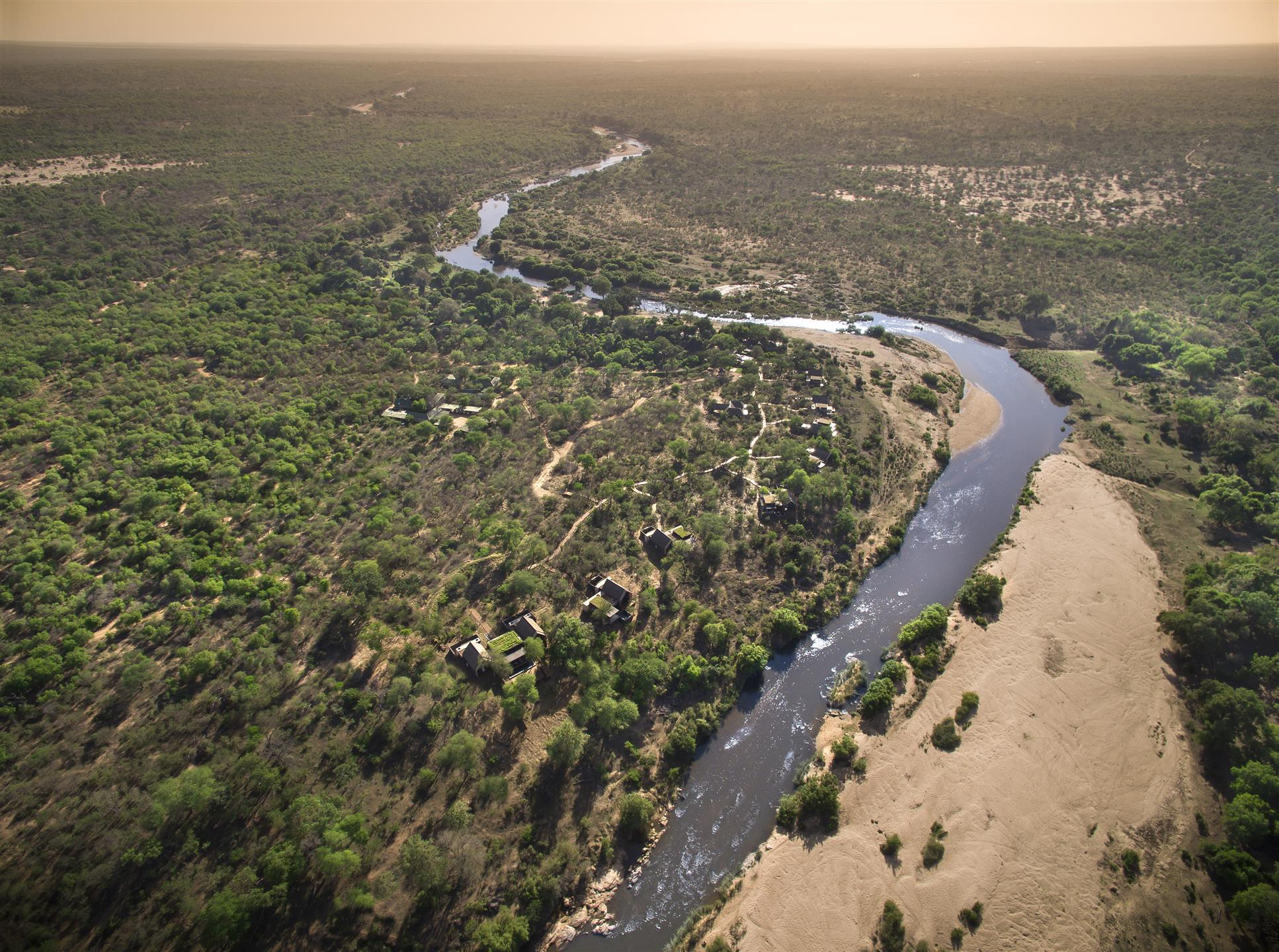 Sabie River with Ivory Lodge