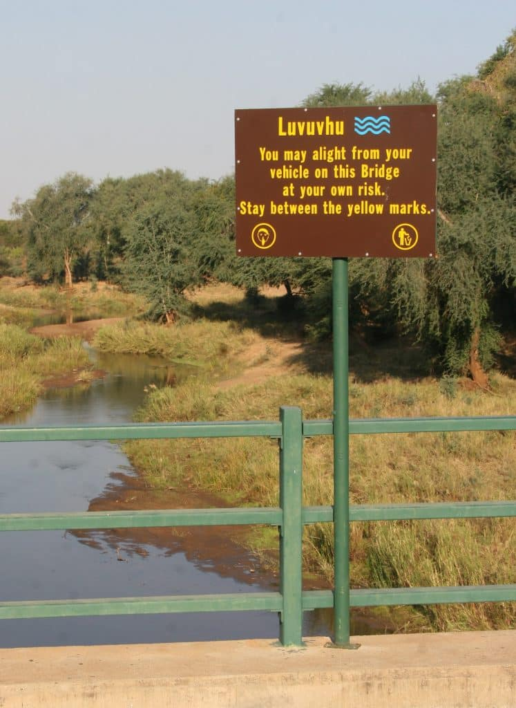 Luvuvhu river bridge