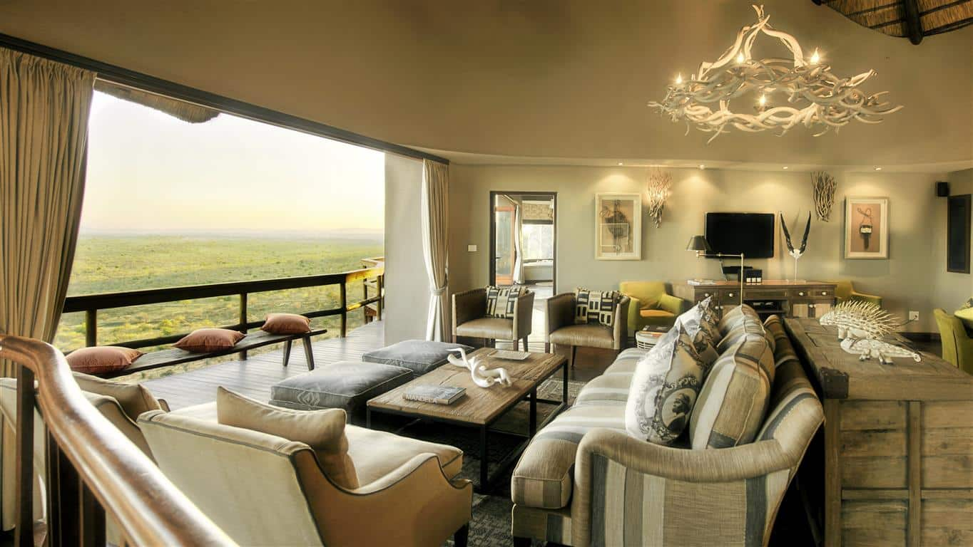 Rock Cliff suite at Ulusaba