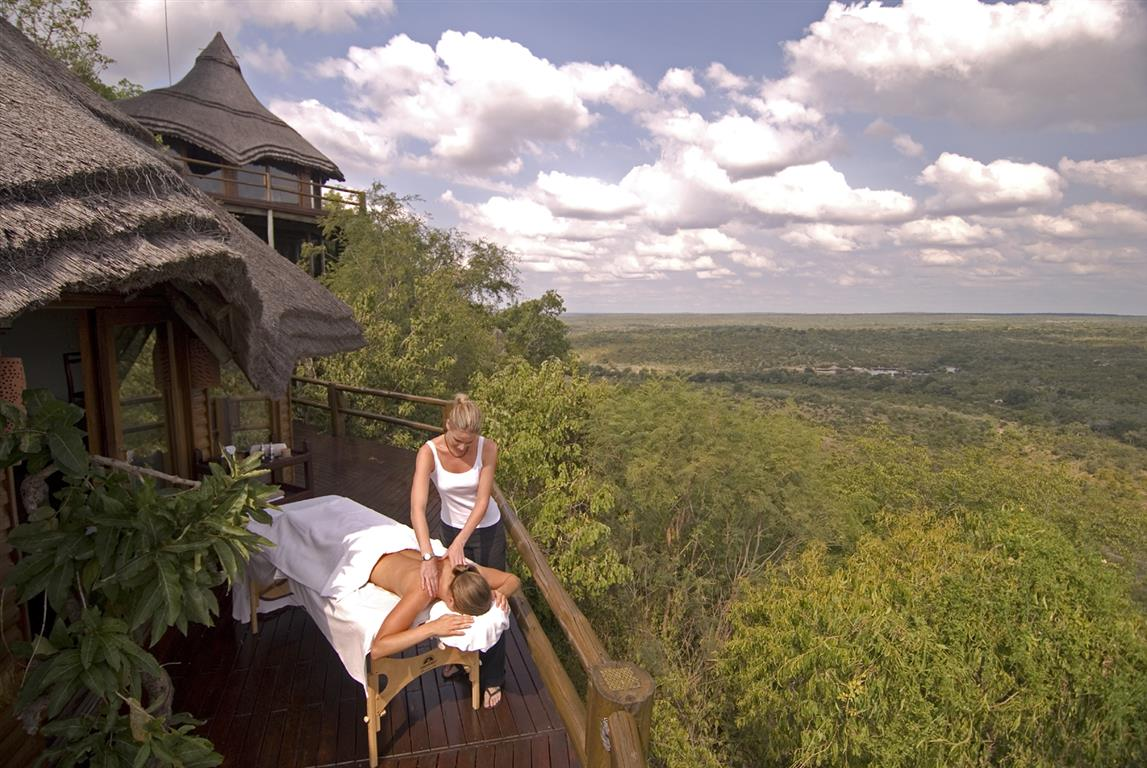 Ulusaba Rock Lodge spa
