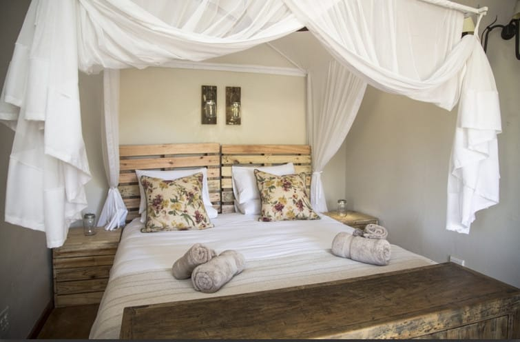 Baobab Hill Bush House bedroom