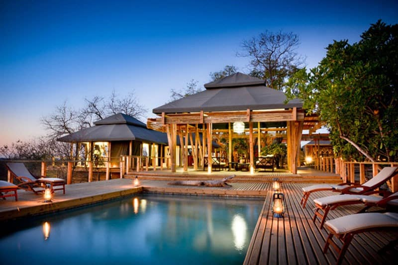 Simbati Hilltop Lodge pool