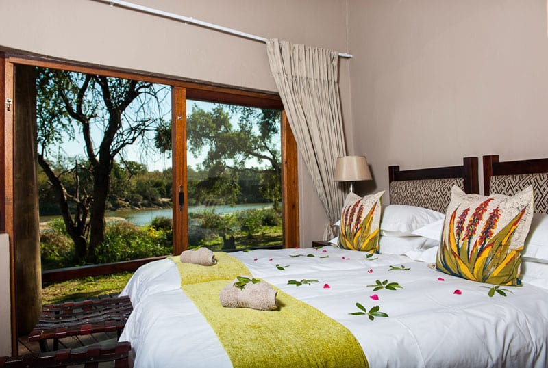 Family suite at Simbavati River Lodge