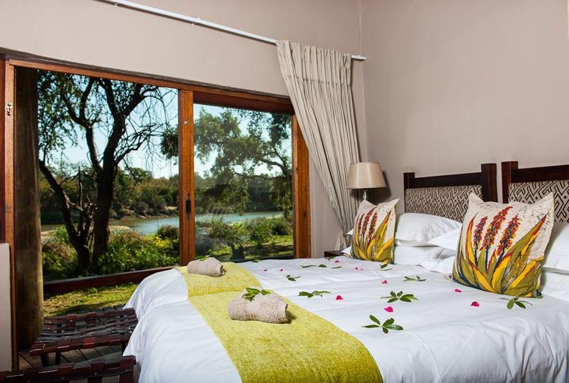 Family suite at Simbavati River Lodge