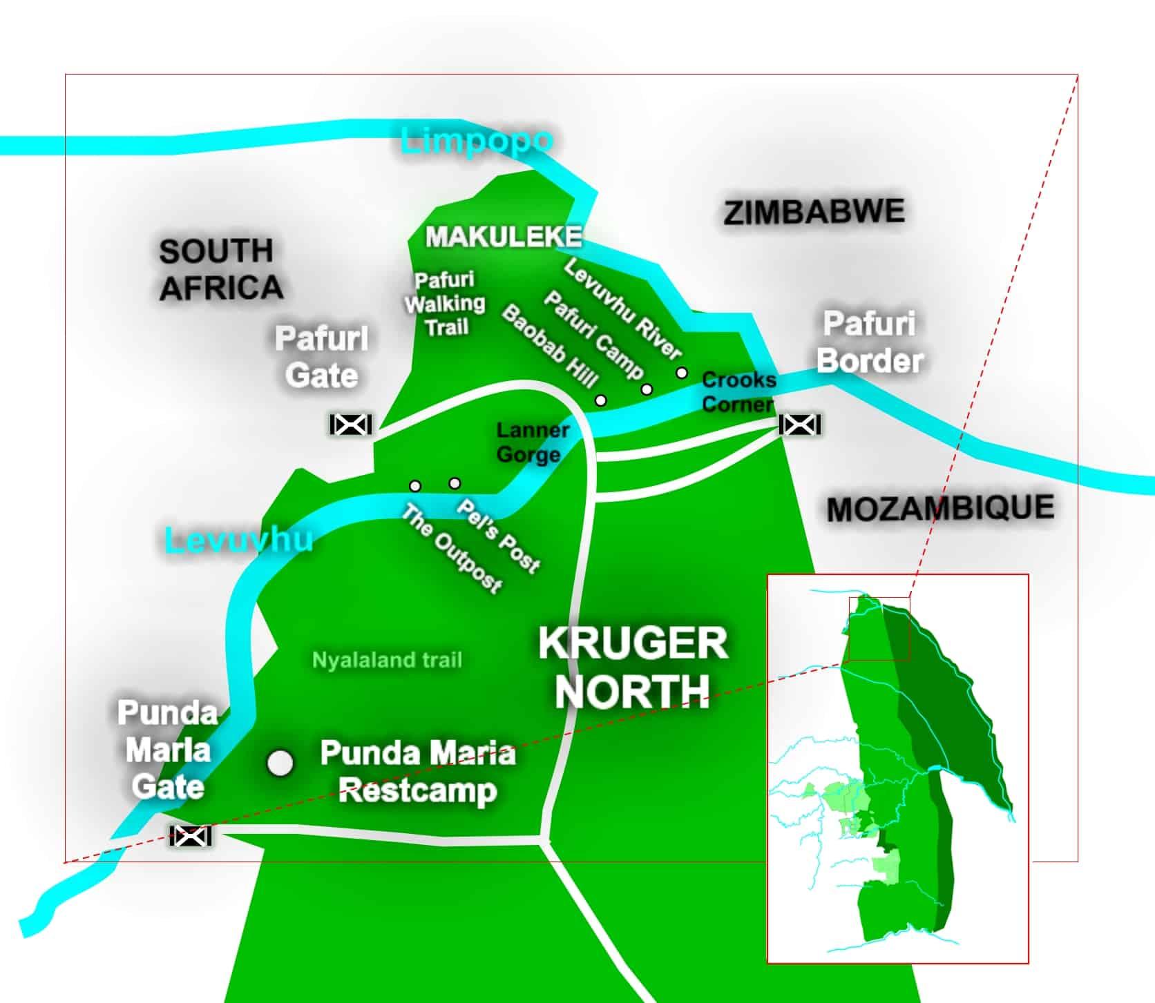 k2c Makuleke contactual park map