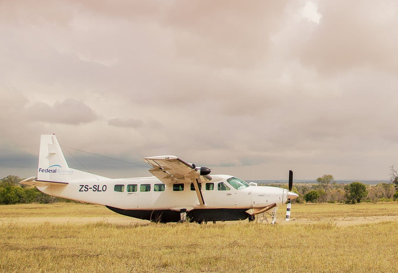Federal Air at Pafuri airstrip