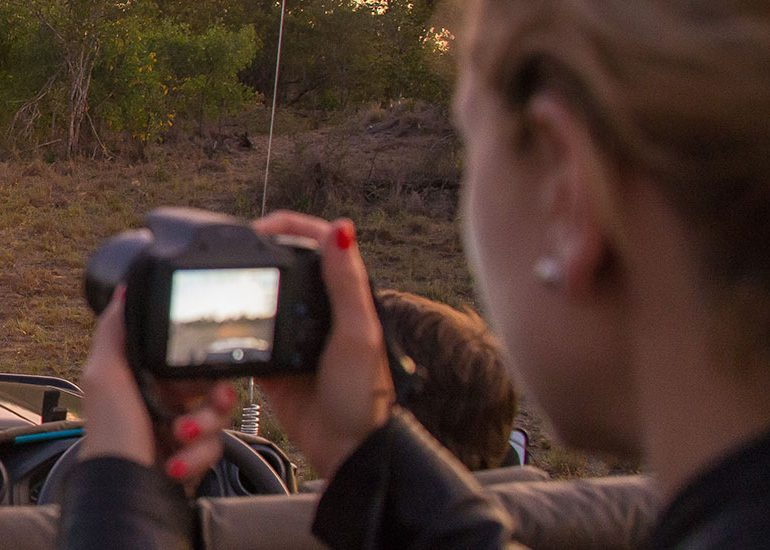Photography at Cheetah Plains