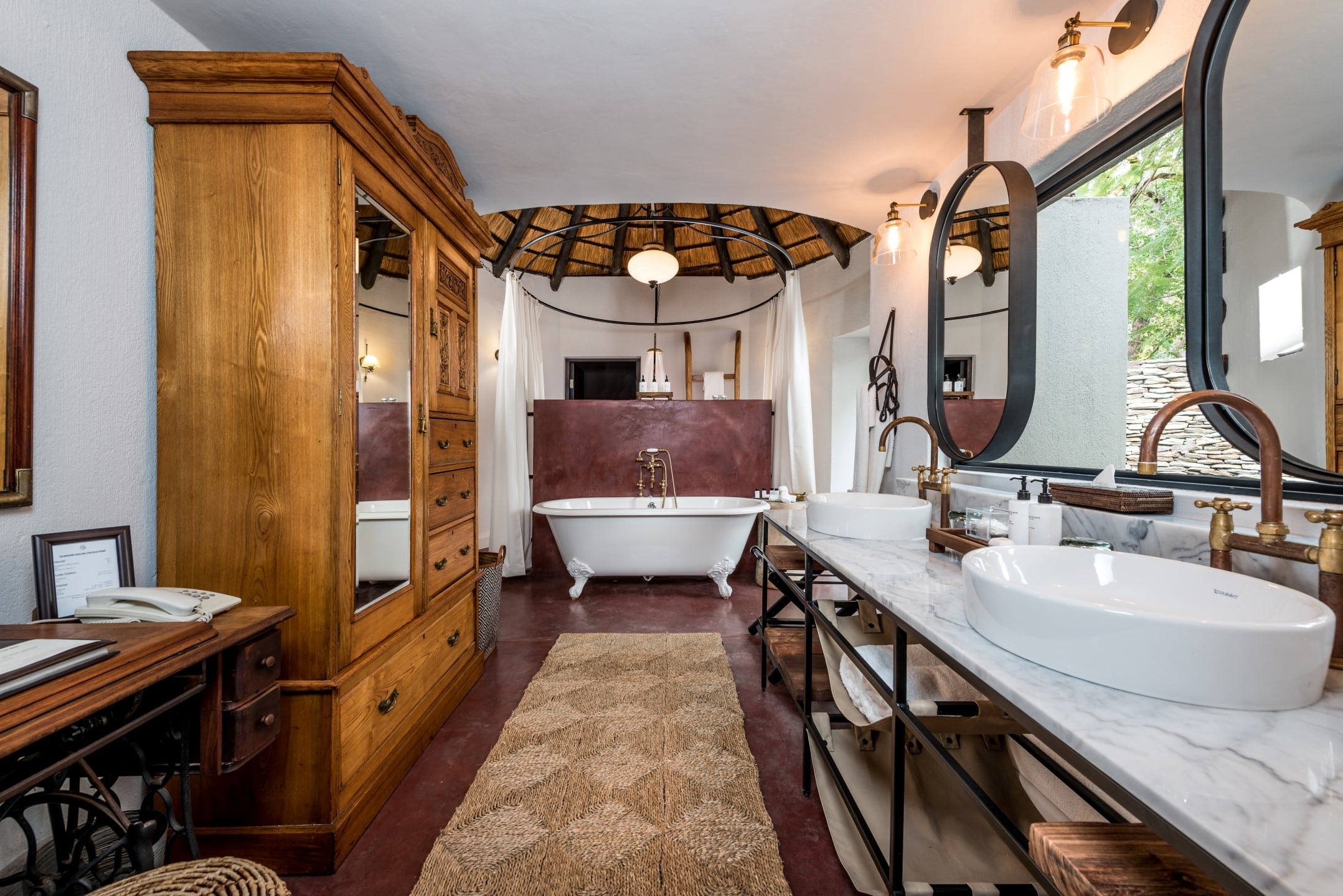 Sabi Sabi Selati suite bathroom