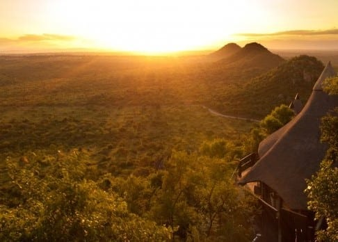 Ulusaba Rock Lodge view