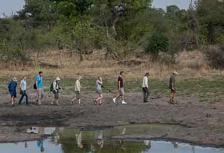 Walking at Africa on Foot