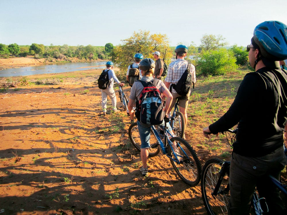 Mountain biking at Olifants, Travis Askham
