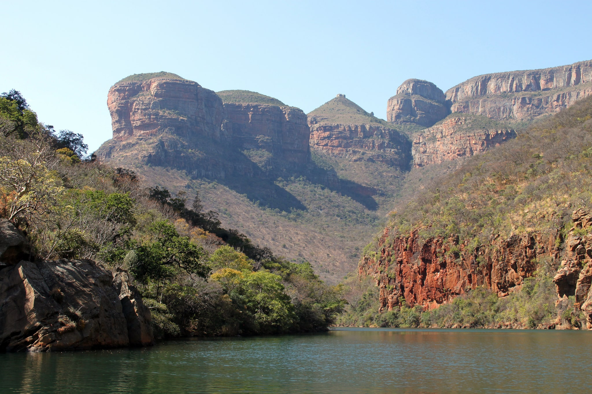 Blyde River and canyon at Swadini