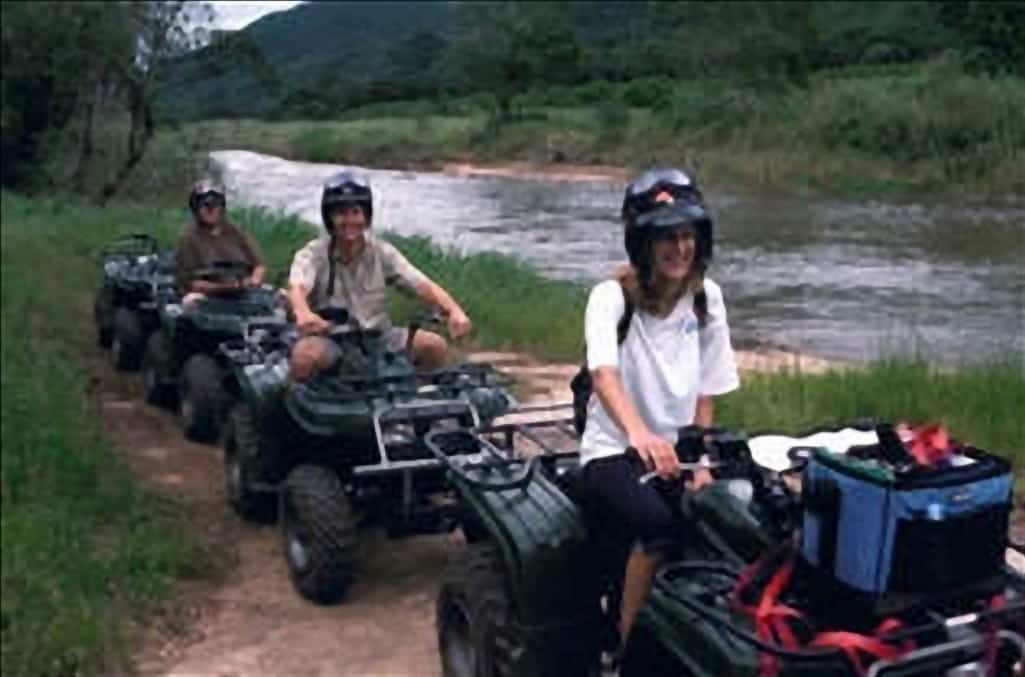Quad biking in the Sabie Valley, Timamoon