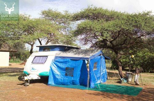 Caravan at Satara