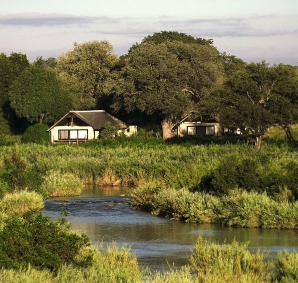 Lion Sands River Lodge location