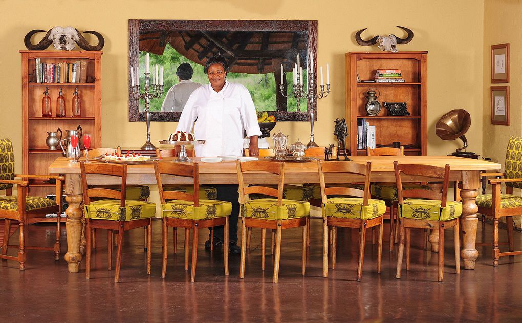 Open kitchen at Jock Safari lodge