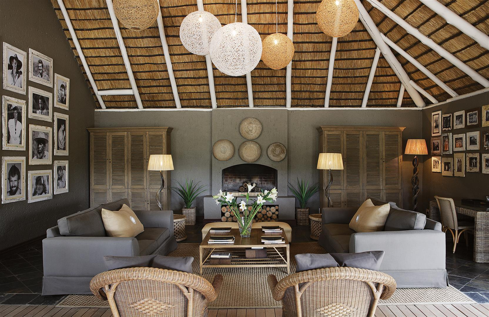 Londolozi Founder Camp living space