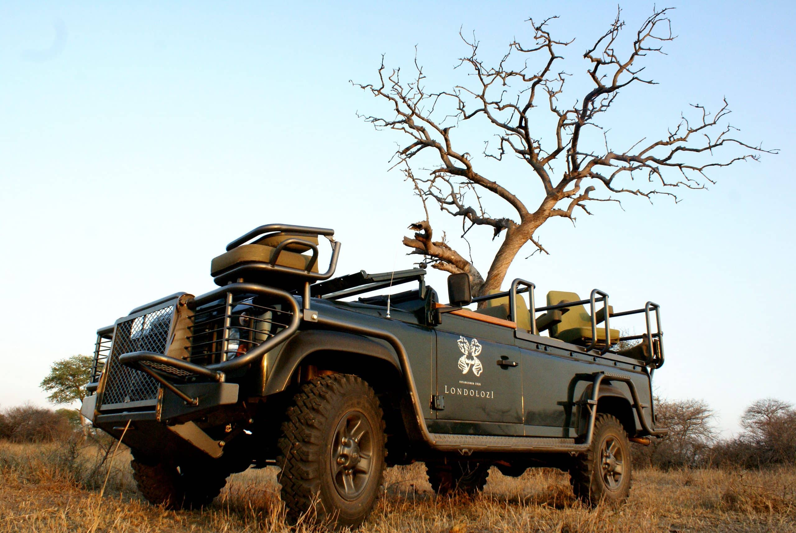 Londolozi specialised photographic vehicle