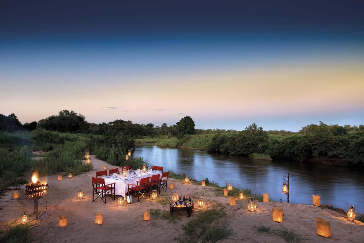 River dinner at Tinga Narina