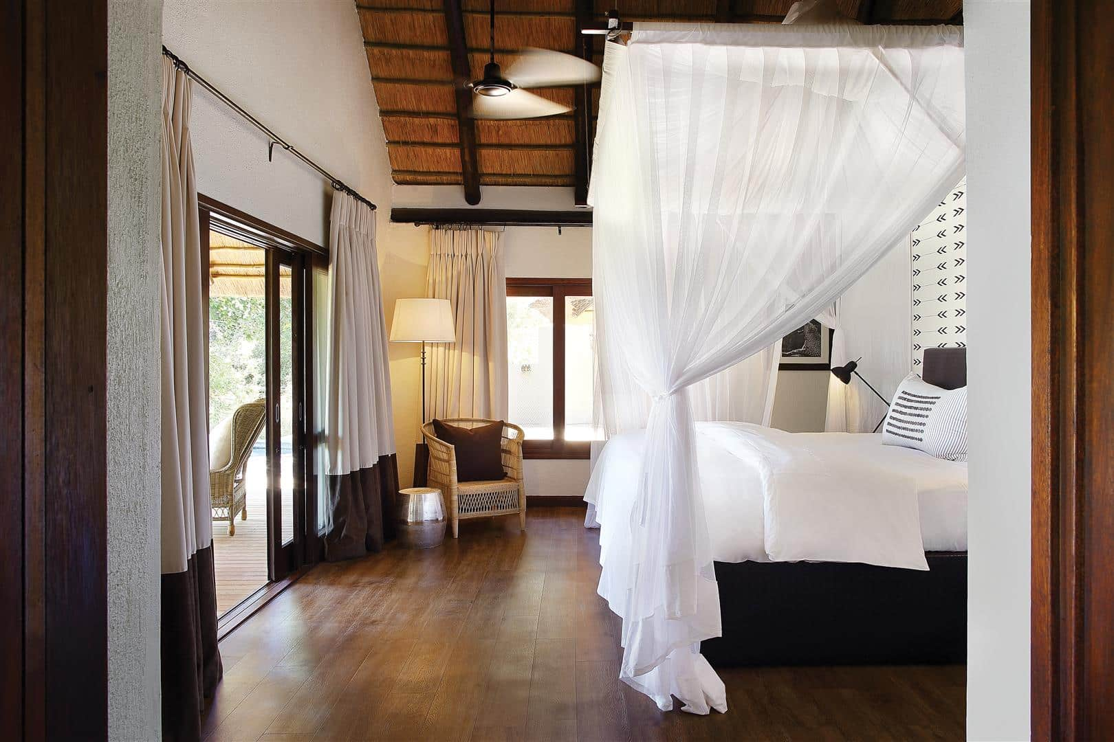 Tree Camp suite bedroom, Londolozi