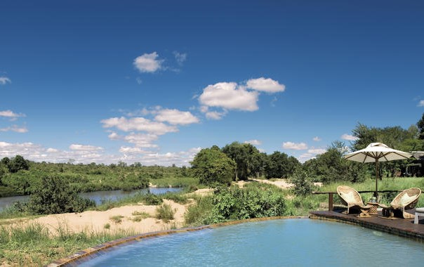 Lion Sands River Lodge pool