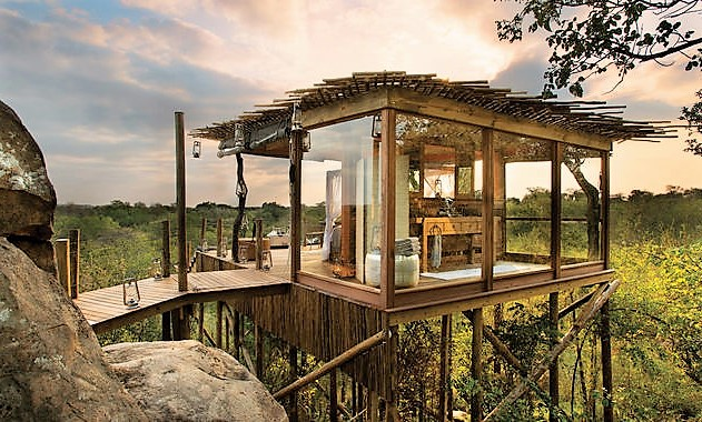Kinston treehouse at Lion Sands