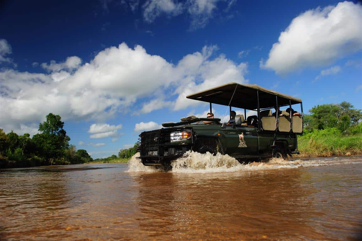 River driving at Jock concession