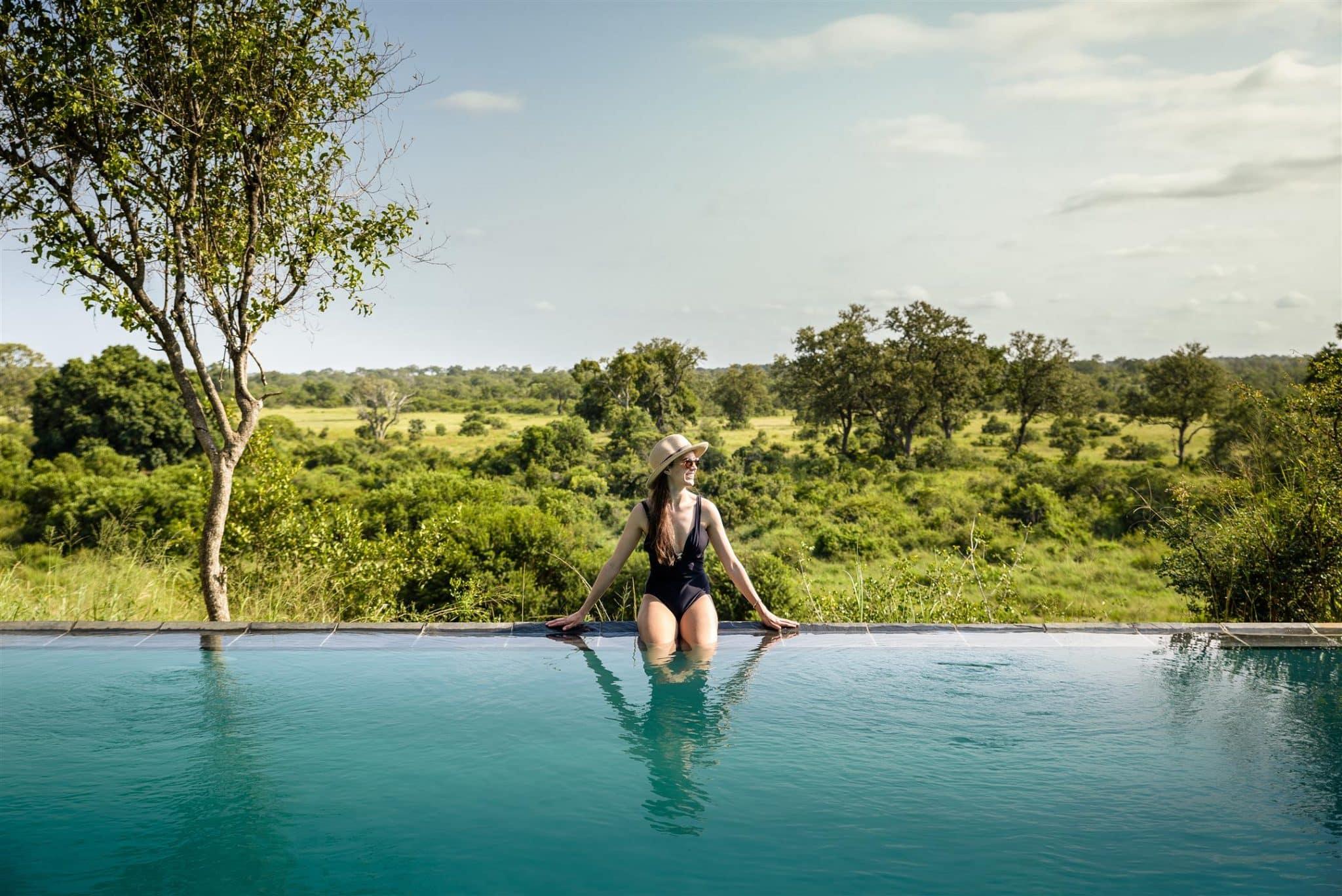 Singita Boulders pool