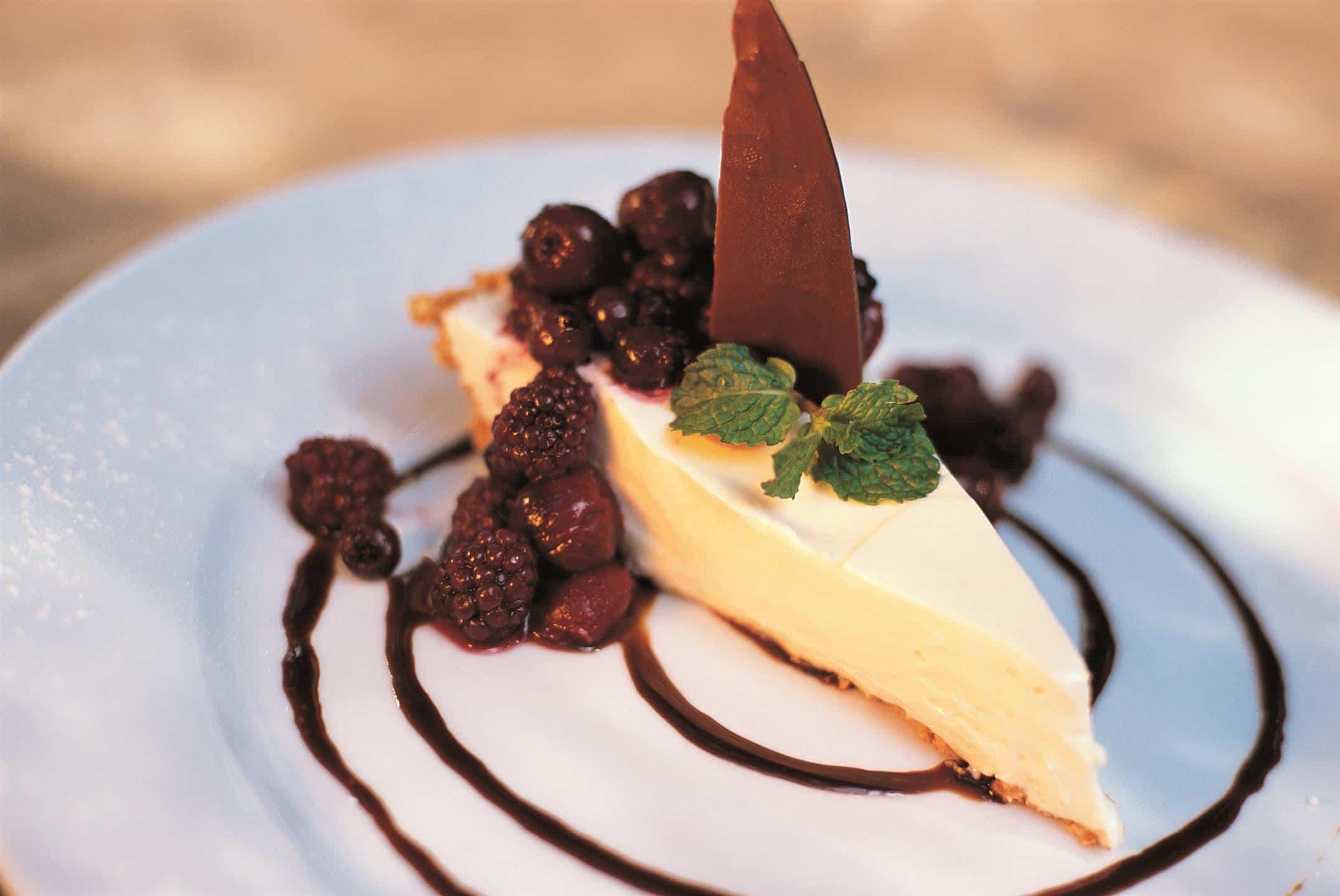Dessert at Pondoro