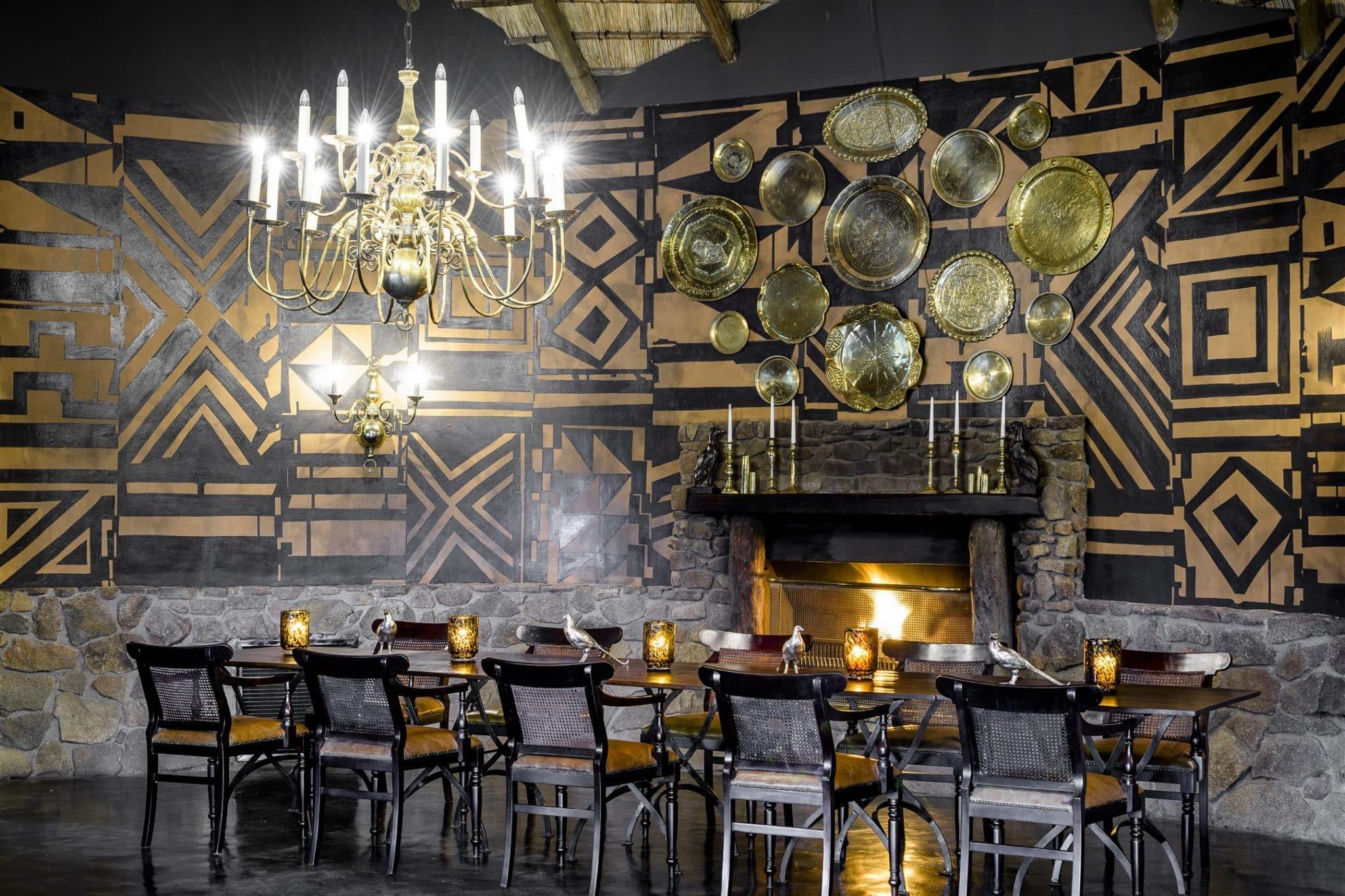Singita Ebony dining room