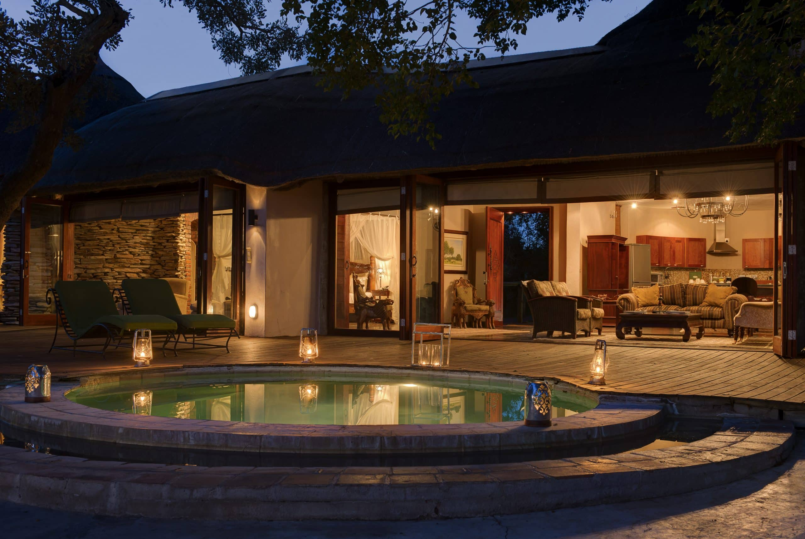 Presidential suite at Tintswalo Safari Lodge