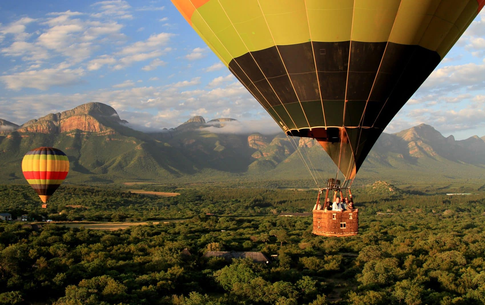 Ballooning the African skies