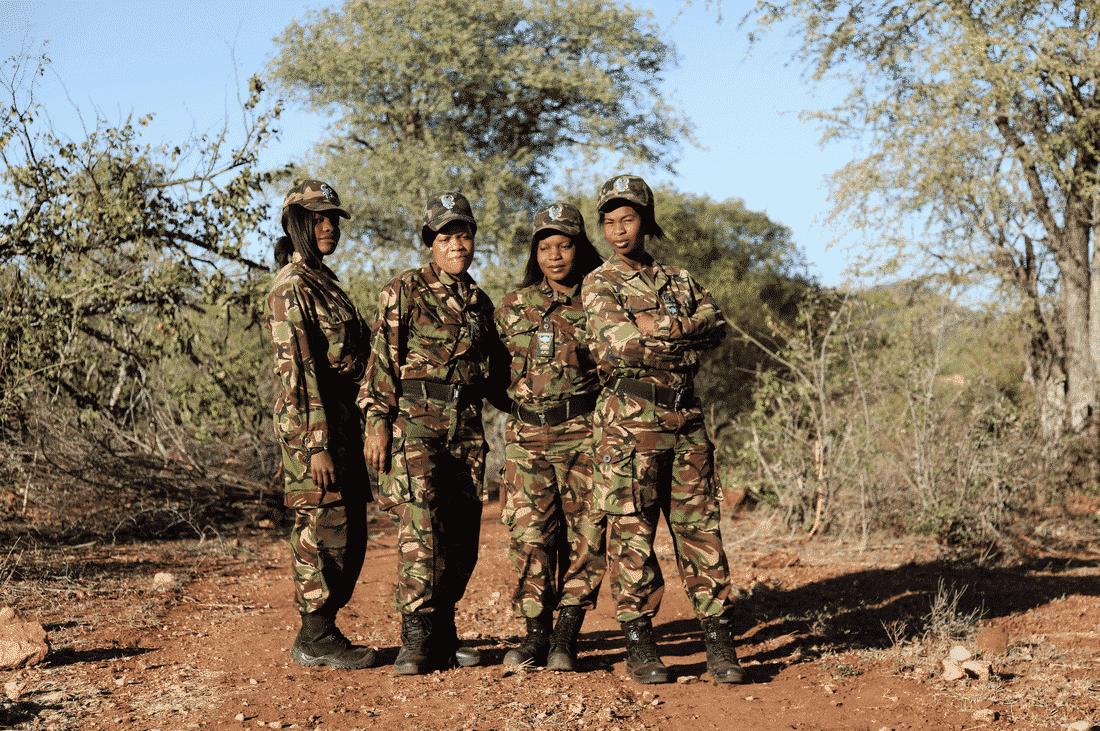 Black Mamba anti-poaching team, Lee-Ann Olwage