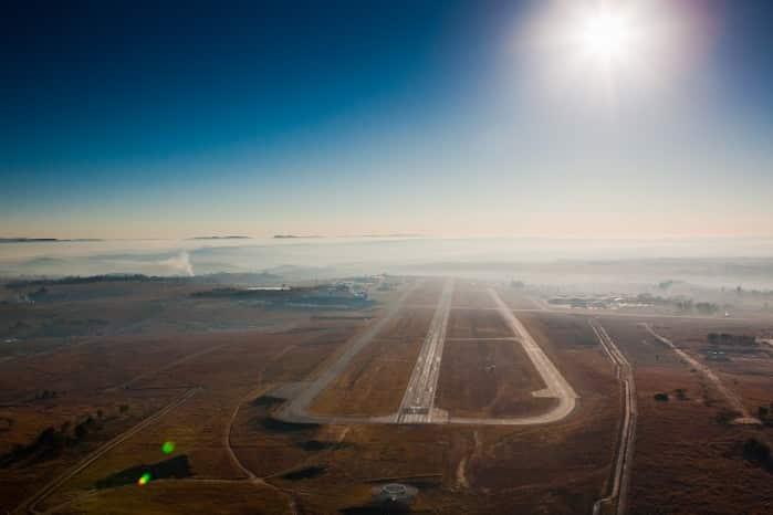 Lanseria airport runway