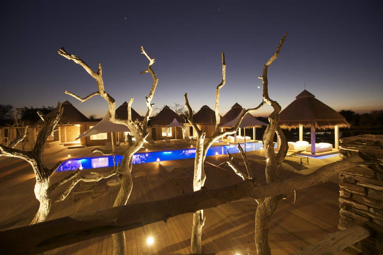 Kapama RIver Lodge spa wellness pool
