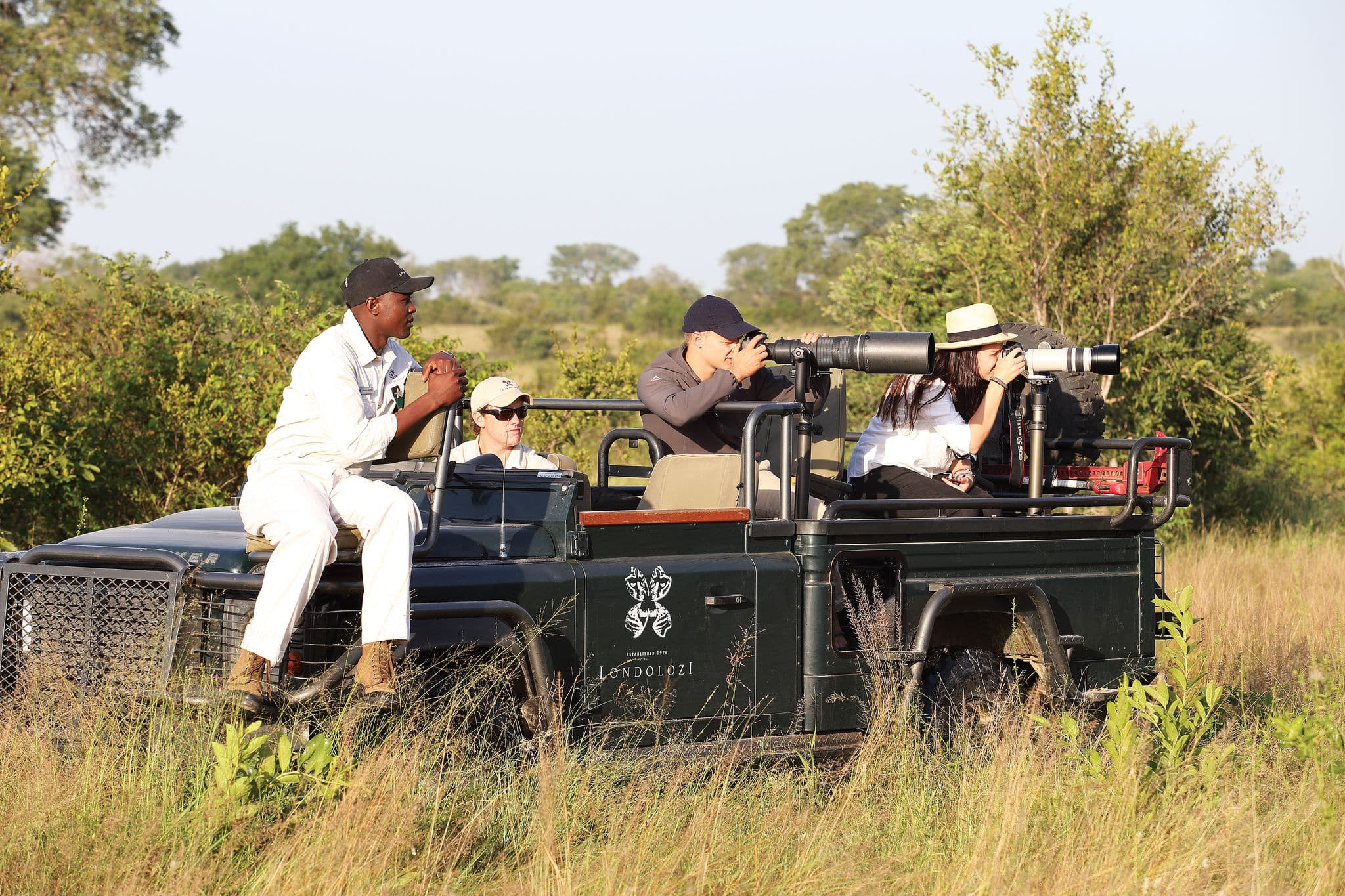 Photographic safaris at Londolozi